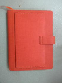 橘色 笔记本 (全新 ) 方格   详见图片