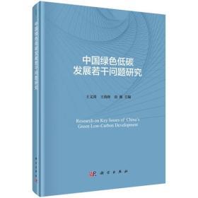 中国绿色低碳生长若干成绩研究