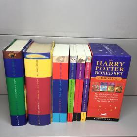 Harry Potter Boxed Set (4册平装)+2册精装  《哈利·波特》共6册合售 【英文原版】【 库存新书  内页干净  正版现货  多图拍摄 看图下单收藏佳品】