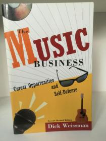 The Music Business:Career Opportunities and Self-Defense by Dick Weissman (音乐)英文原版书