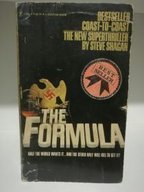 The Formula by  Steve Shagan (二战惊险小说)英文原版书