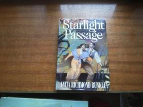 英文原版小说【starlight passage】《星光通道》anita richmond bunkley,安妮塔里士满班克利著,大32开精装本,扉页带签名字体