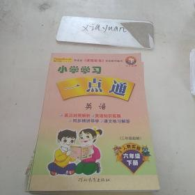 学习一点通人教实验版六年级下册英语