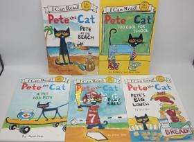 I can read peter the cat 系列5本 儿童英文绘本