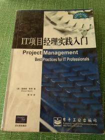 IT项目经理实践入门