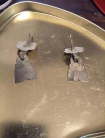 清代铜抽屉拉手2