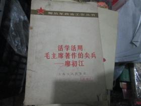 解放军政治工作丛书:活学活用毛主席著作的尖兵----廖初江