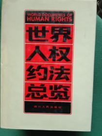 世界人权约法总览(包邮)