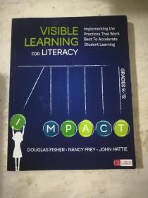 VISIBLE LEARNING FOR LITERACY GRADES K-12