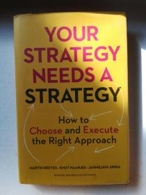 YOUR STRATEGY NEEDS A STRATEGY(精装 英文原版)