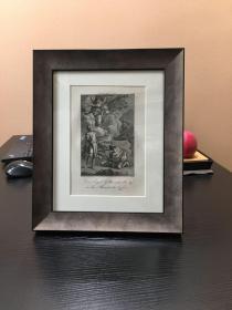 欧洲版画 凹版 圣经故事