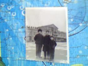 老照片;长春老火车站