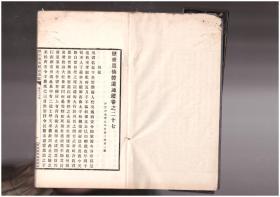 道教印刻版老书《历世真仙体道通鉴》58筒页 复印件