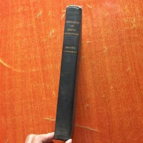 PRINCIPLES OF SERVO-MECHANISMS(1948年英文精装原版)