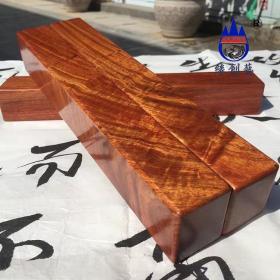 缅甸花梨大果紫檀/整木老料素面镇尺