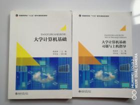 正版二手包邮 大学计算机基础+习题与上机指导 杨焱林  北京大学出版社 9787301296035