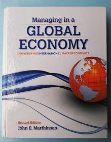 正版 Marthinsen Managing in a GLOBAL ECONOMY demystifying international macroeconomics  John E.Marthinsen 9781285055428