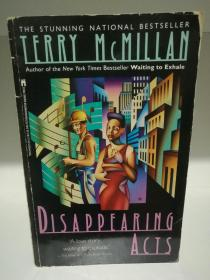 Disappearing Acts by Terry McMillan(美国黑人文学)英文原版书
