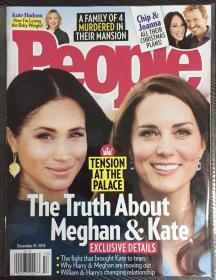 People 人物周刊 2018年 12月31日 NO.53 原版外文英文期刊