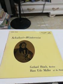 黑胶唱片(日本原版一歌曲集(冬之旅)全曲。网上独有)