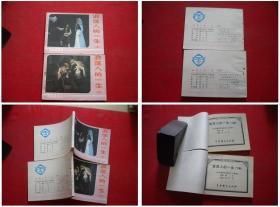 《浪荡人的一生》一套两册,中国戏剧1984.10一版一印10品,934号,电影连环画