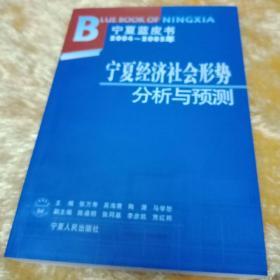 2004~2005年宁夏经济社会形势分析与预测