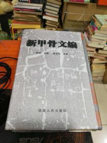 新甲骨文编 ------2009年一版一印、1500册 、精装