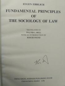 Fundamental Principle of the Sociology of Law