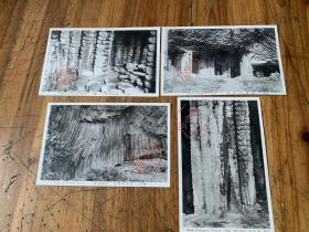 3967:民国日本明信片《但马 玄武洞  各角度拍摄的风景》4张