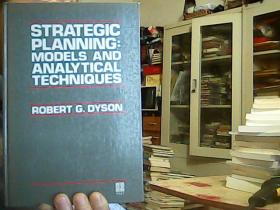 STRATEGIC PLANNING:MODELS ANDANALYTICAL TECHNIQUUES