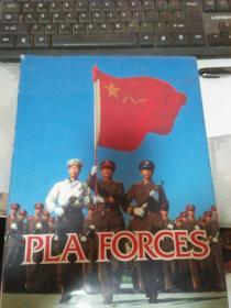 中国武装力量  精装 英文画册(详见图)