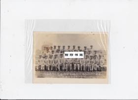 民国四十二年(1953年) 【空军一二二部队全体主官欢送赵大队长留念】