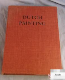 JEAN LEYMARIE《荷兰绘画 》1956年出版,精装作者JEAN LEYMARIE