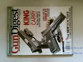 GUN DIGEST 2018年1月 枪杂志 枪文摘杂志 外文杂志 英文过期杂志