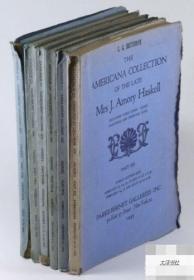 【哈斯克尔收藏 - 美国家具及古董1-6卷】几百幅艺术品图,1944年出版