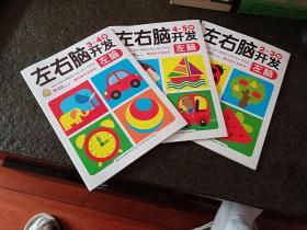 左右脑开发-2-3岁 3-4岁 4-5岁 左脑【三册合售]