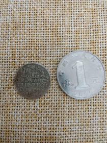 银币 硬币 波兰 国王 齐格蒙特三世 1624