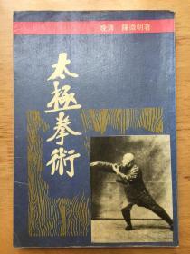 正版现货 太极拳术 陈微明 华东师范大学出版社