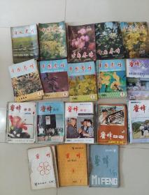 《中国养蜂》《蜜蜂杂志》《国外畜牧学-蜜蜂》请看品相描述总共150本