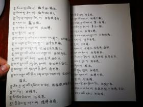 藏汉对照瑜伽师地论辞汇(油印本)
