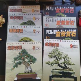 盆景赏石(5,6,7,8,9,10,11,12)八册合售