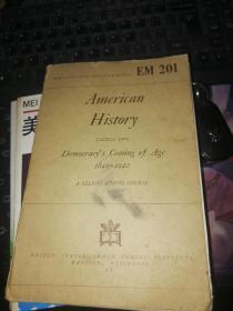 美国史 1840--1942英文版