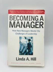 Becoming a Manager: How New Managers Master the Challenges of Leadership成為經理