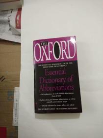 外文原版老旧书-THE OXFORD ESSENTIAL DICTIONARY OF ABBREVIATIONS