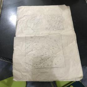 民国时期抗日战争胜利后东北九省行政区划图 每张50元