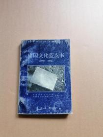 中国文化蓝皮书:1995~1996