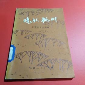 晚秋枫叶(1版1印)