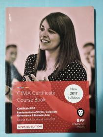正版 CIMA BA4 Fundamentals of Ethics,Corporate Governance&Business Law  (Course Book) UPDATED EDITION  For exams from 2017 BPP LEARNING MEDIA 9781509711611