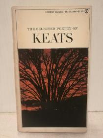 济慈诗歌精选集 The Selected Poetry of Keats (A Signet Classic 1966年版) (诗歌)英文原版书