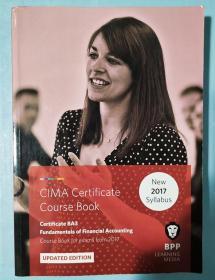正版 CIMA BA3 Fundamentals of Financical Accounting (Course Book) UPDATED EDITION  For exams from 2017 BPP LEARNING MEDIA 9781509711604